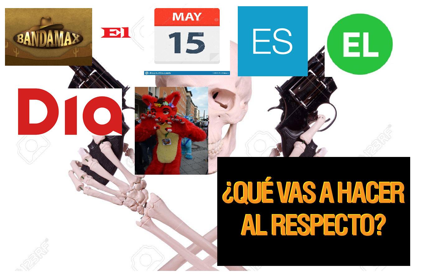 Si no entendieron es que el 15 de mayo es el día de furros - meme