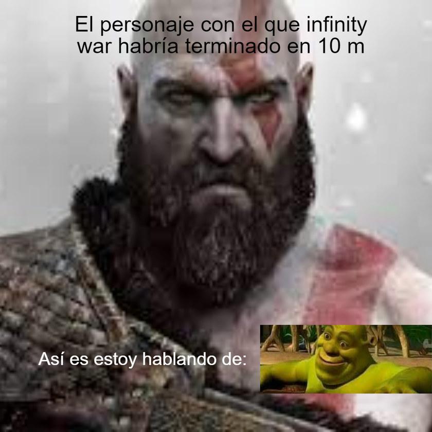 Shrek le gana - meme