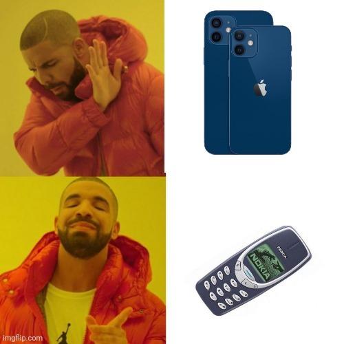 El título está comprando un Nokia - meme