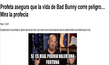 El título fue al funeral de Bad Bunny   B) - meme