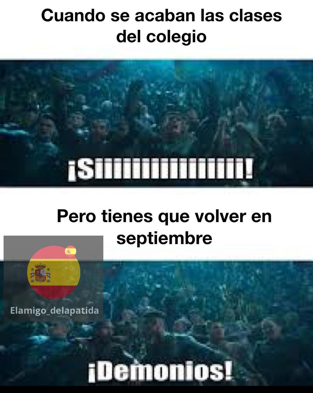 Colegio!!! € - meme