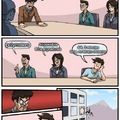 Prog metal boardroom meeting suggestion