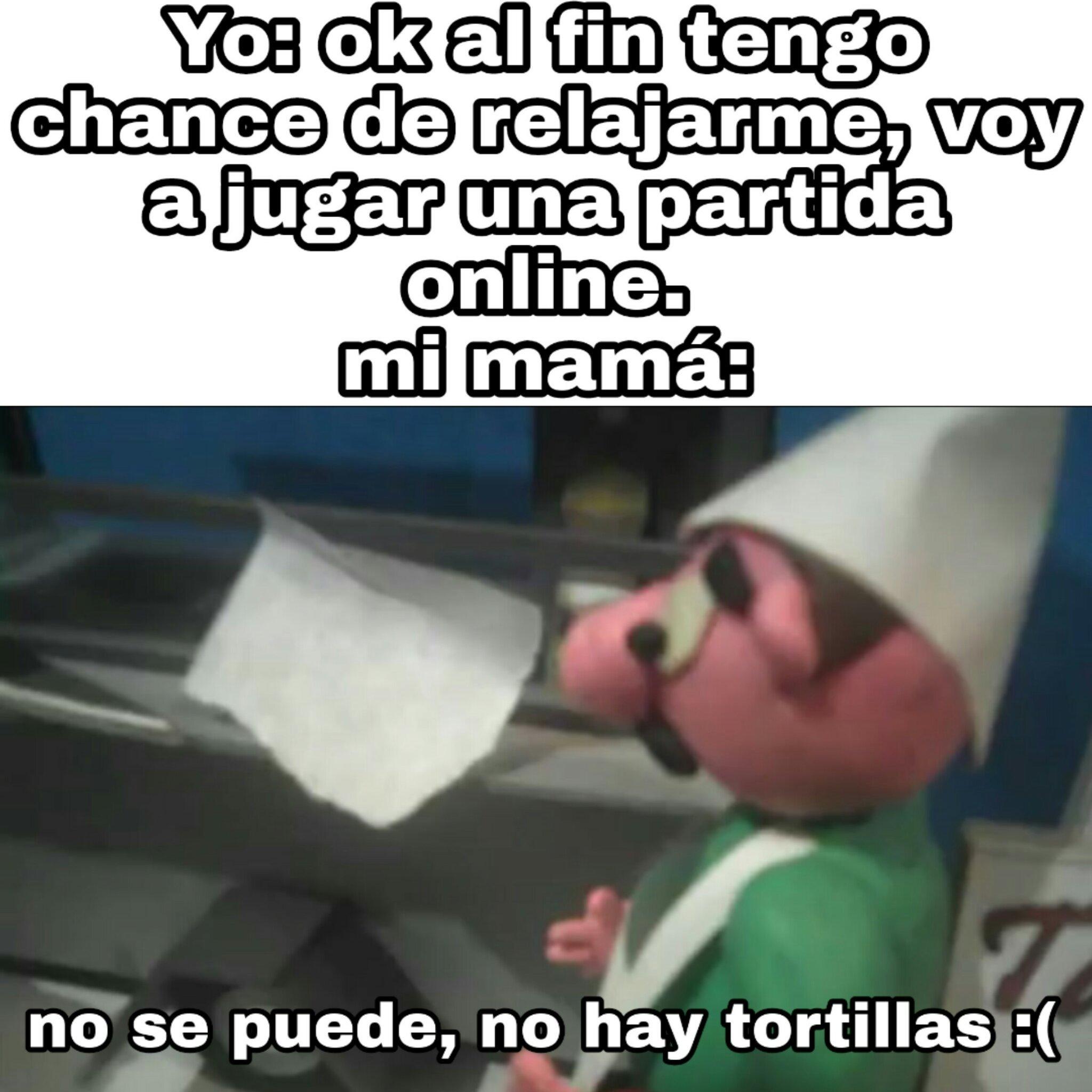 No hay tortillas :( - meme