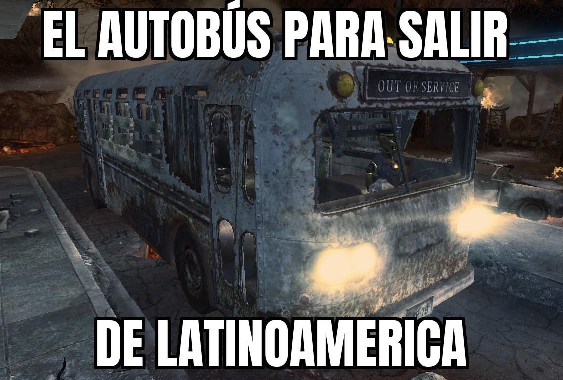 El mejor bus - meme