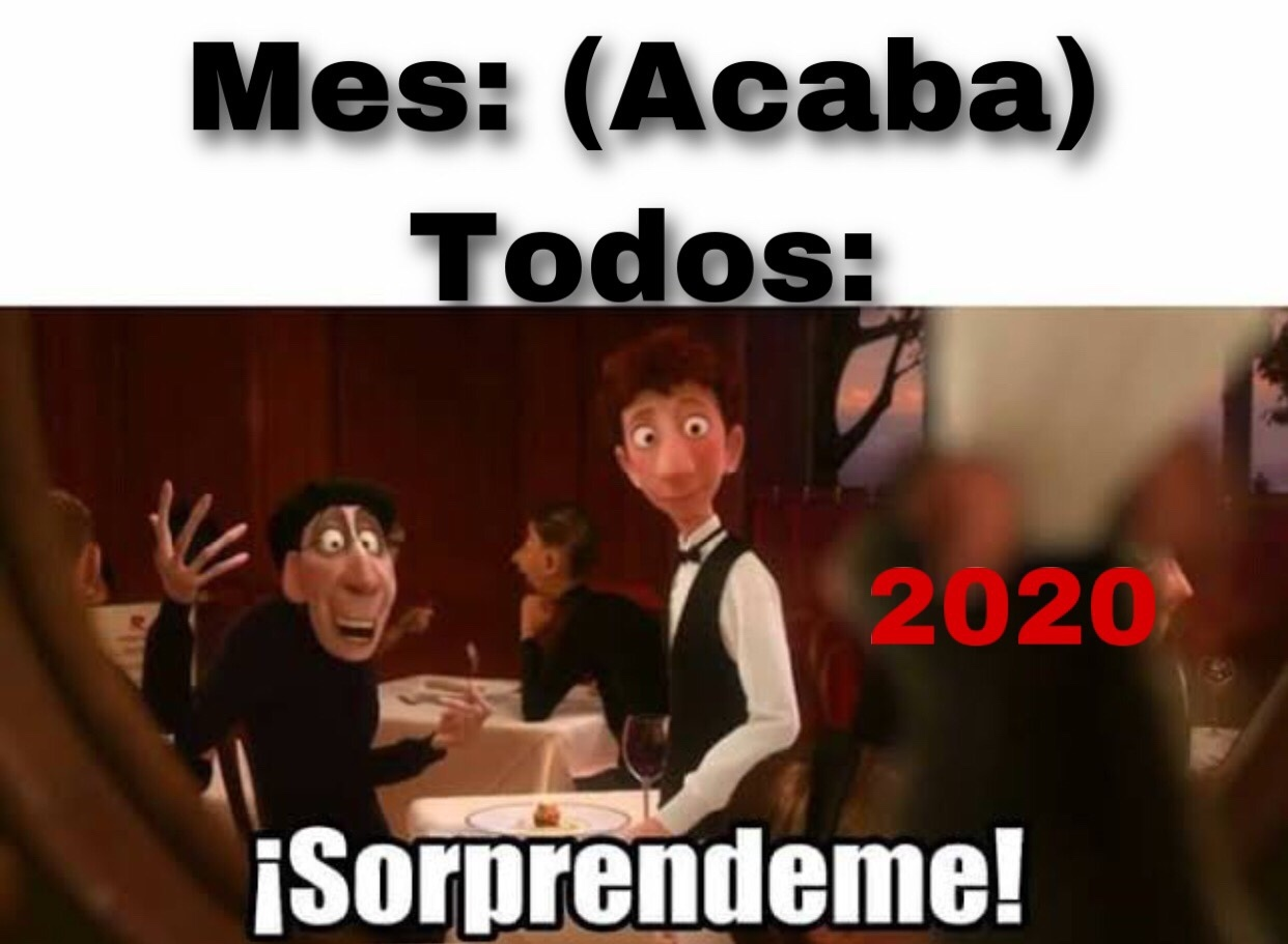 2020 es el tutorial - meme