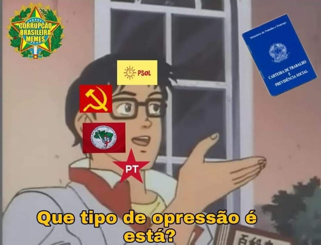 Comunismo é o meu ovo - meme