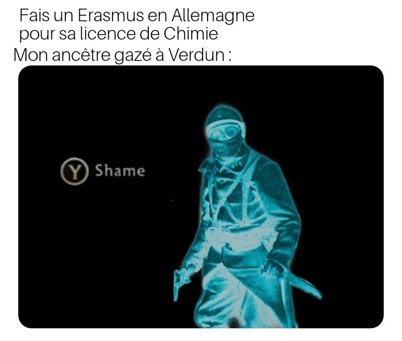 Attention : Verdun ca claque mais j'ai aucune idée de l'utilisation d'un quelconque gaz pendant cette bataille - meme