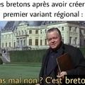 Hé les bretons ! Le Mont Saint-Michel est en Normandie