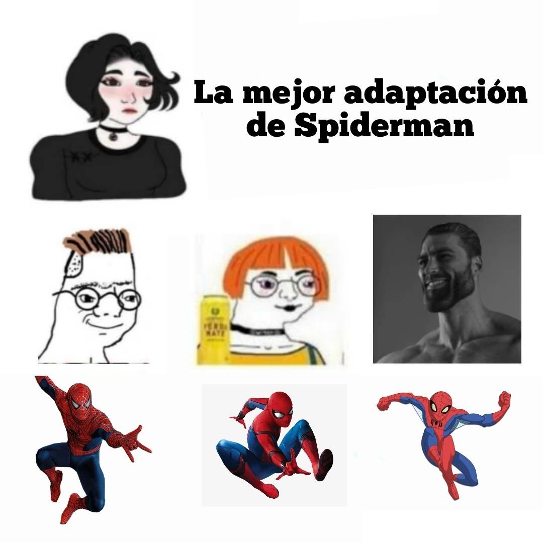 Esa serie es lo mejor del personaje - meme