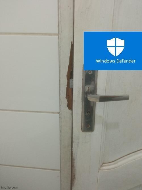 Puerta anti paja - meme