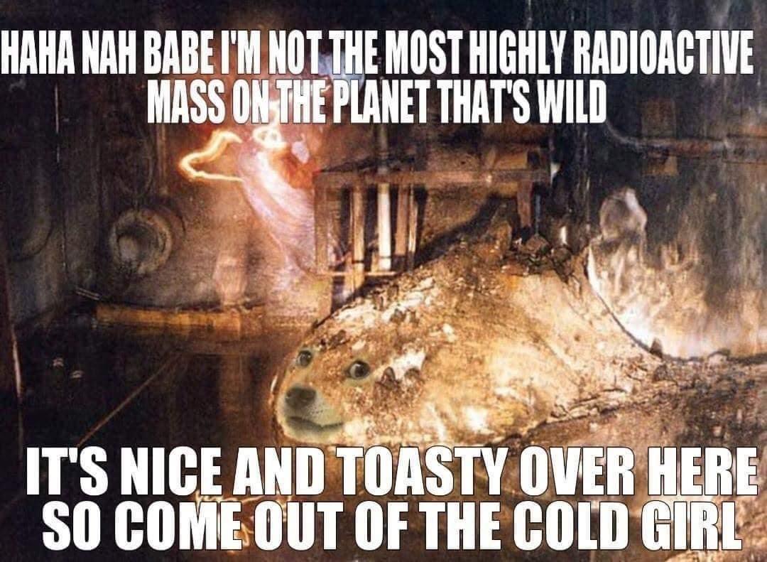 dongs in a chernobyl - meme