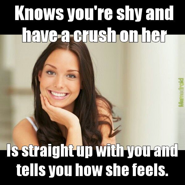 Some chicks keep it real tho. - meme