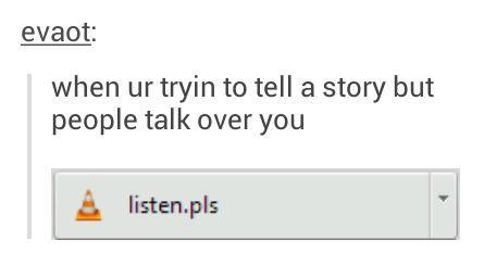 listen pls - meme