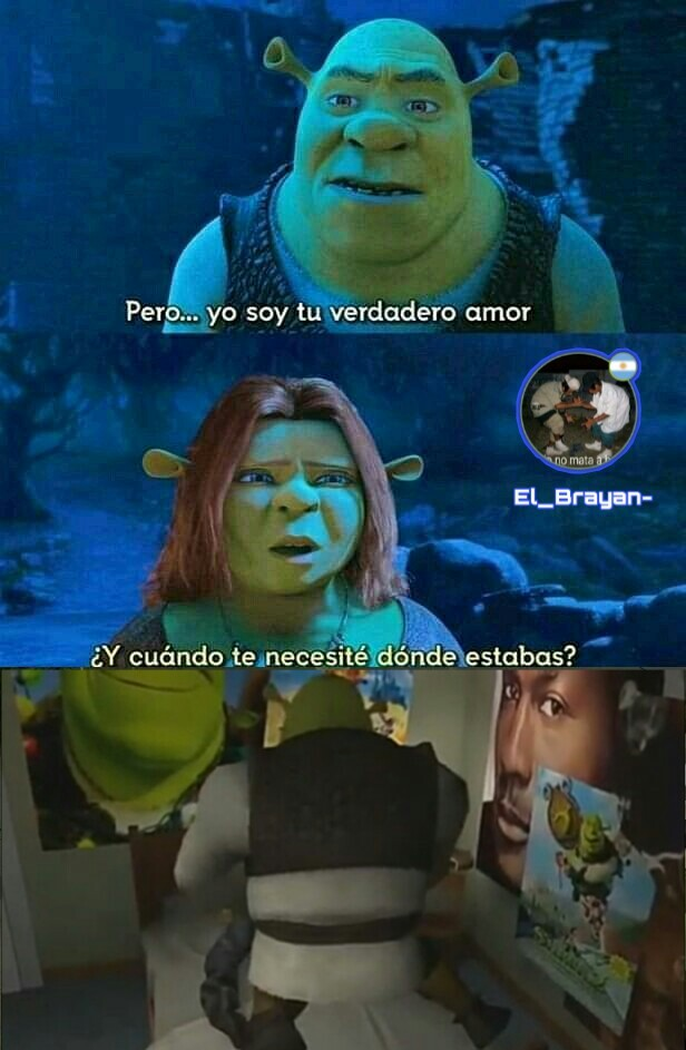 Shrek is love, Shrek is life. - meme