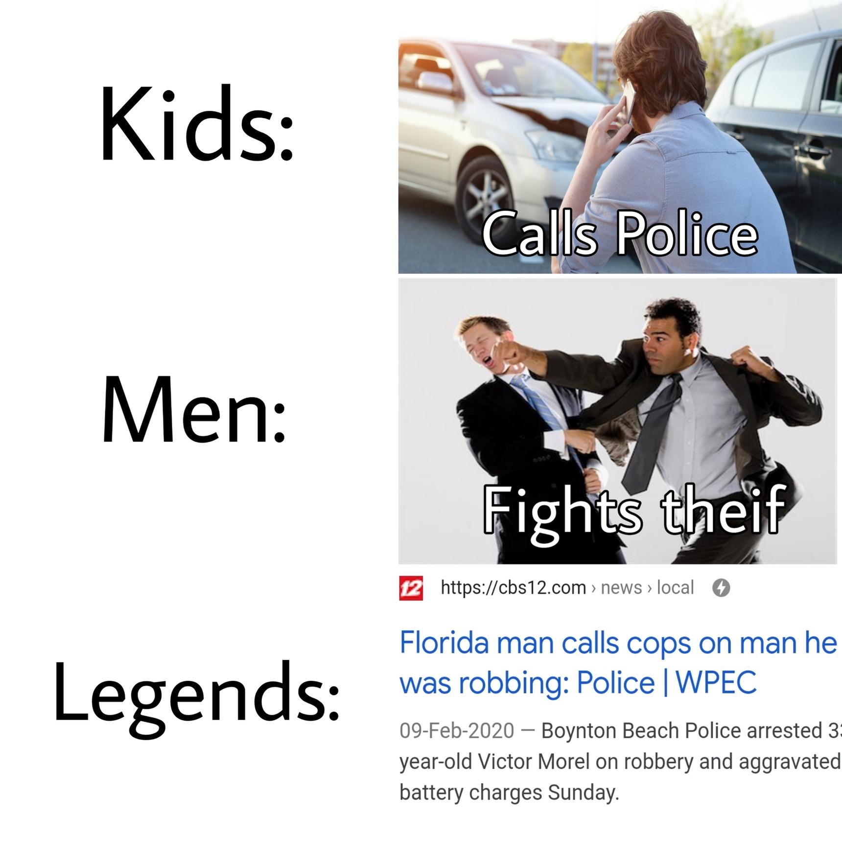 Legends - meme