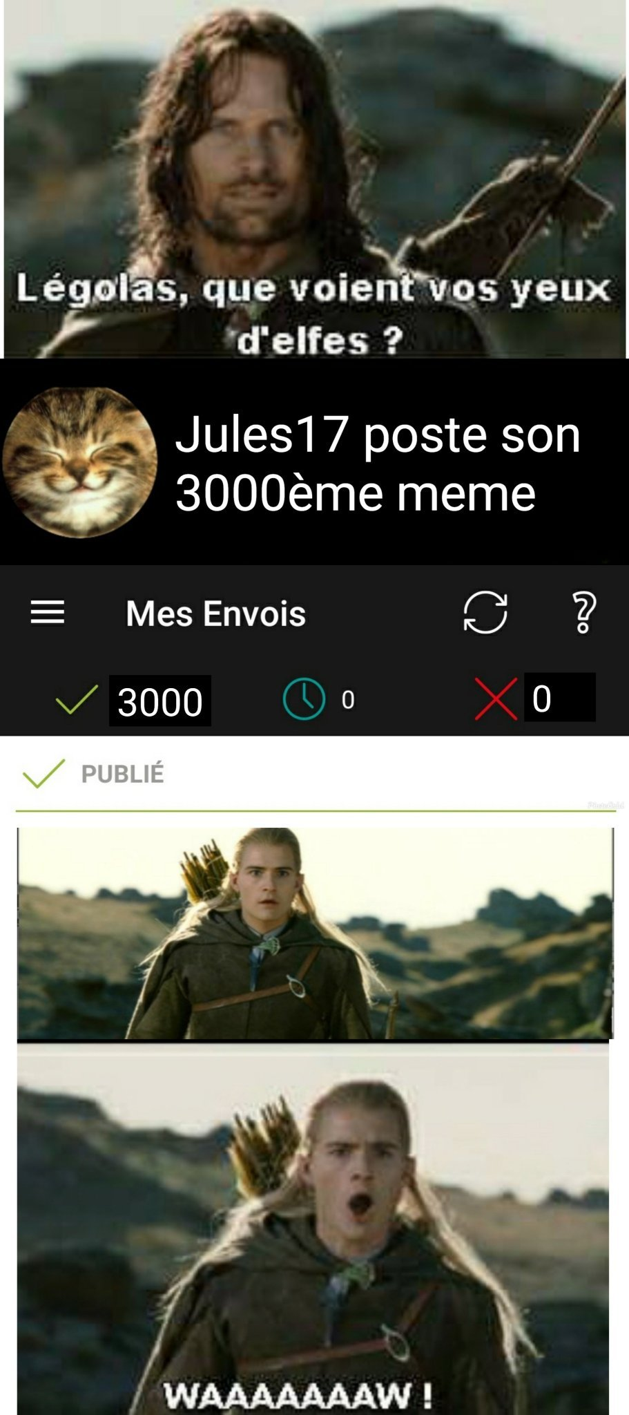 3000 meme. Merci Memedroid