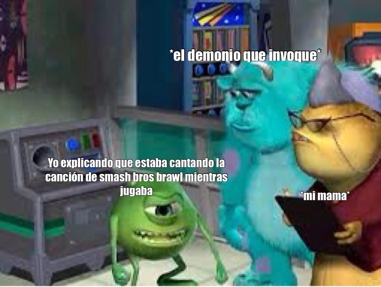 esa canción te confunde si el juego está en otro idioma - meme