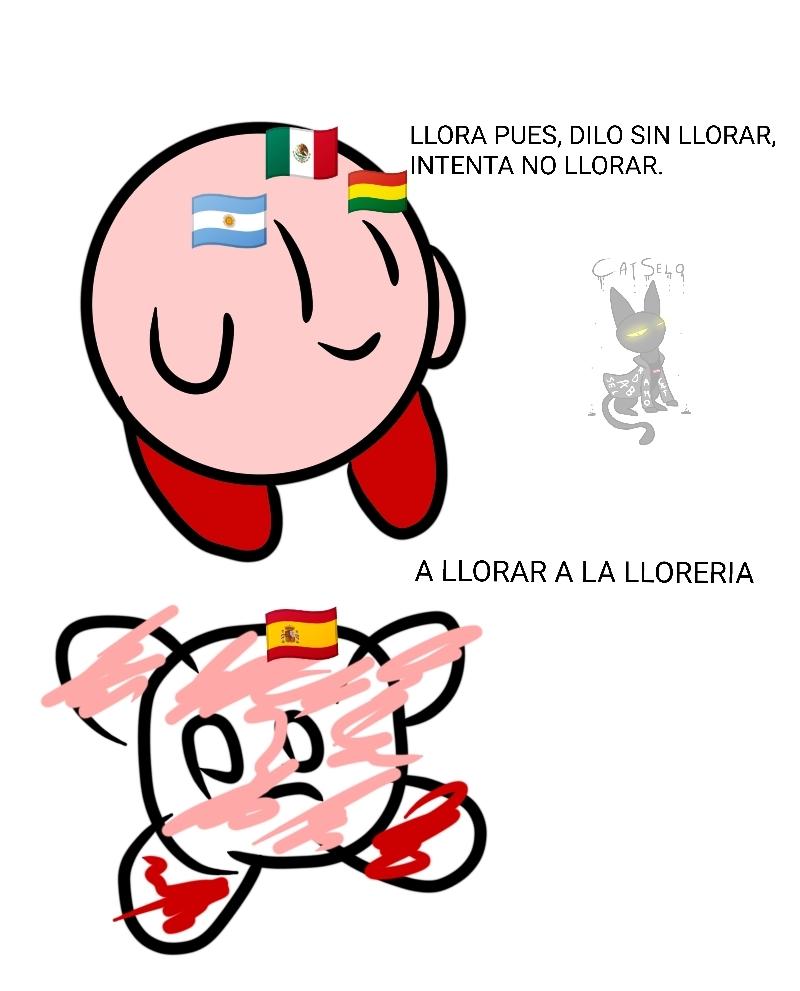 No es por mamaresla a los latinos, pero hasta a mí me dio cringe.  Y si, los españoles hablamos así. - meme