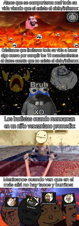 A los usuarios mexicanos los escogí aleatoriamente :cool: - meme
