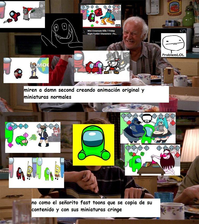 fast toon da cringe - meme