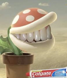 Teeth so white they cant dance - meme