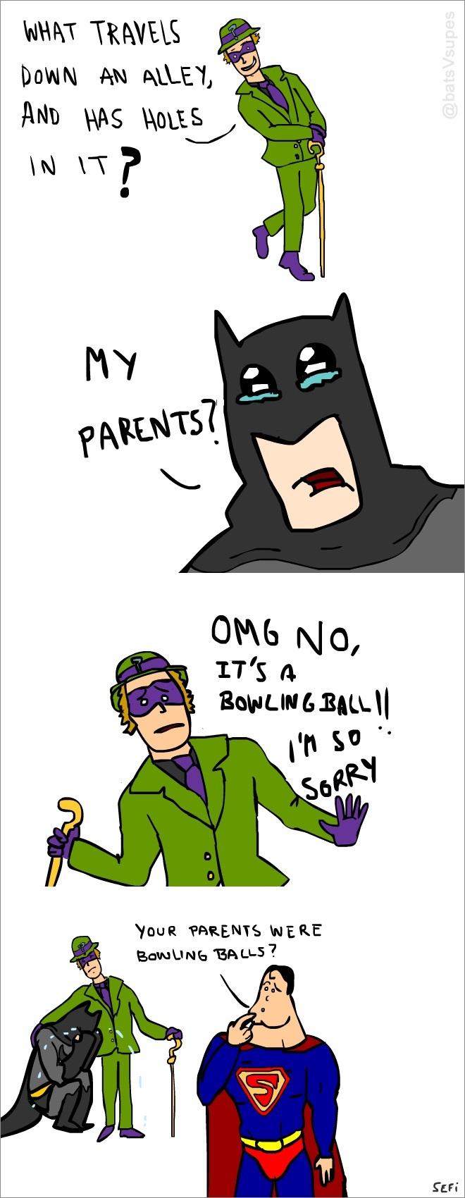 Bat man - meme