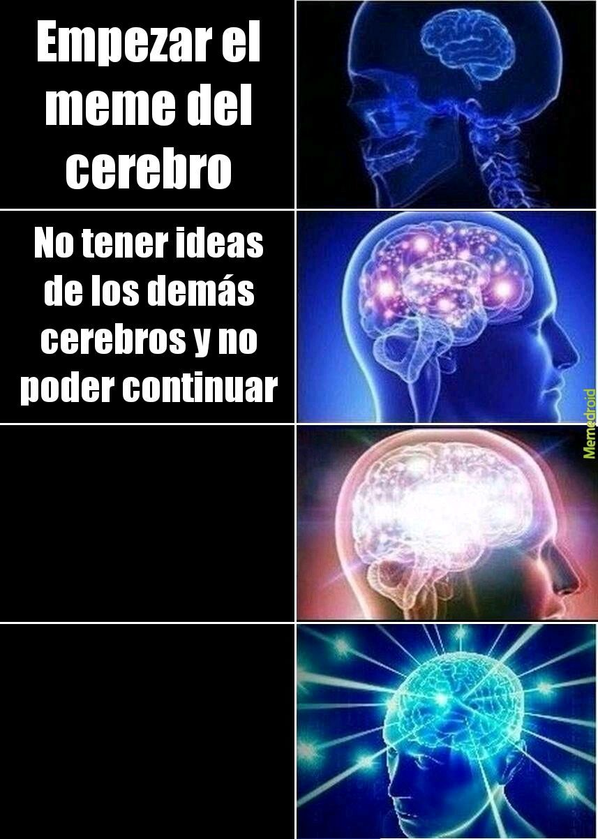 Sin ideas - meme