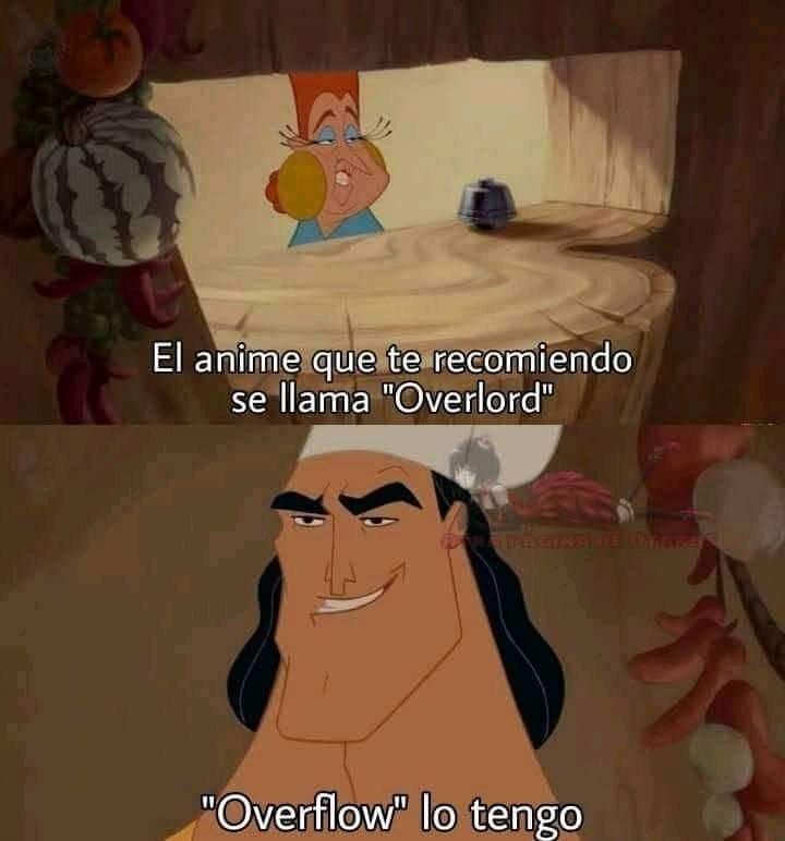 Overlord mola - meme