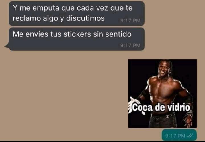 Coca de bidrio - meme
