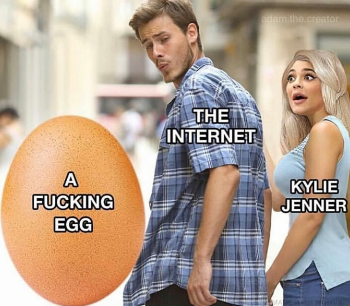 I used to have an egg once - meme