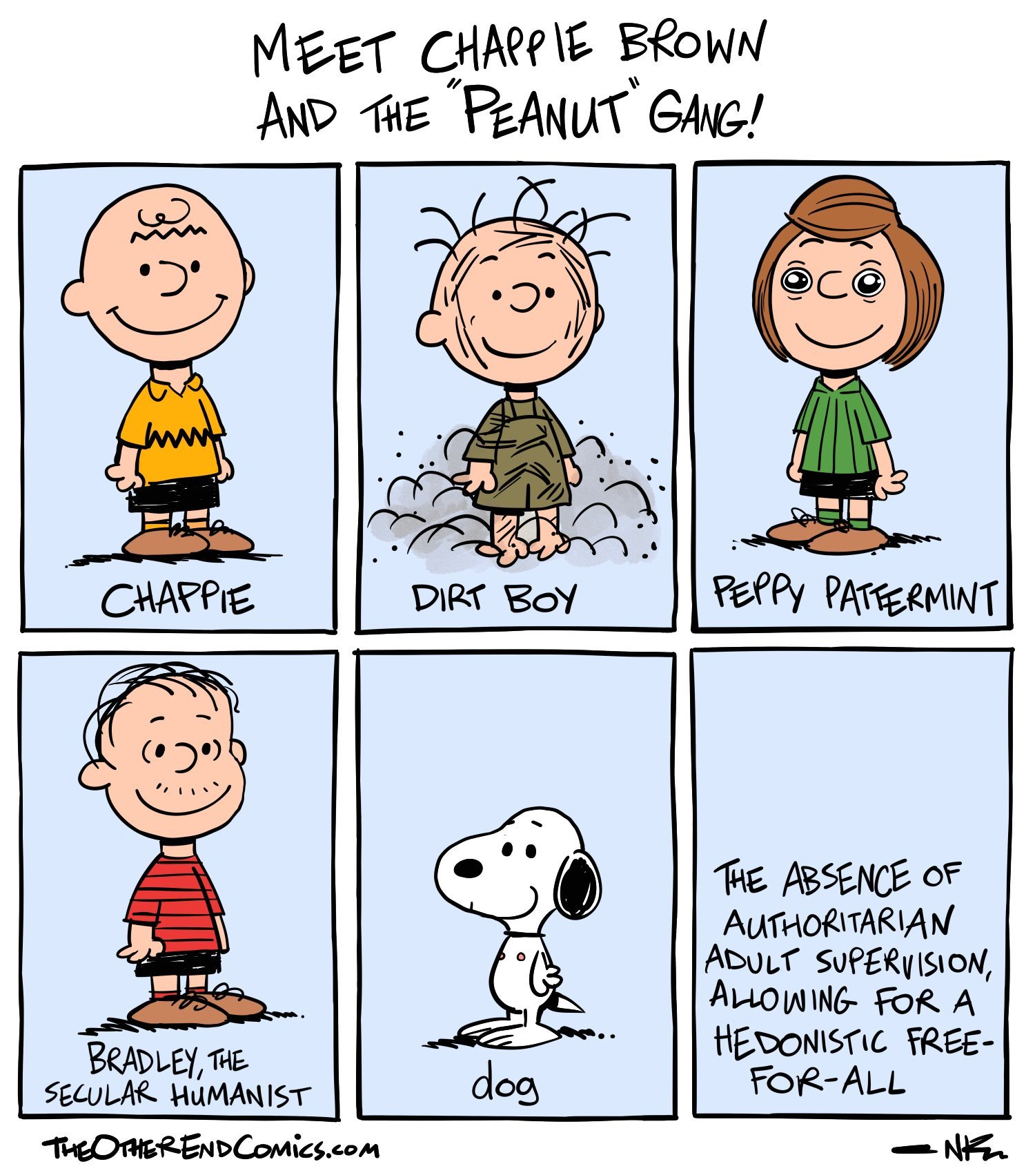 Alternative peanuts - meme
