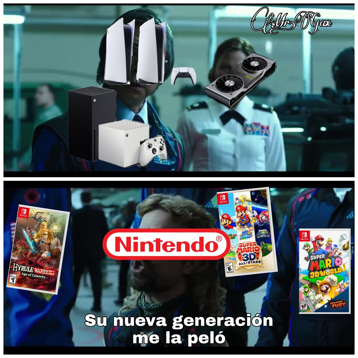 Solo me interesa el 3D All Stars - meme