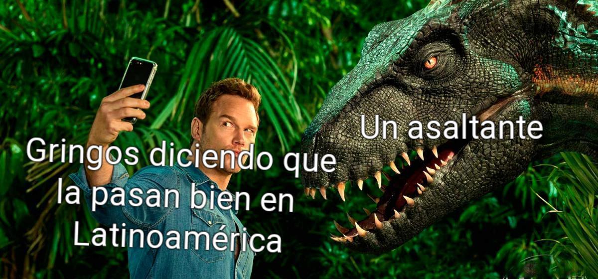 El indoraptor es el mejor - meme
