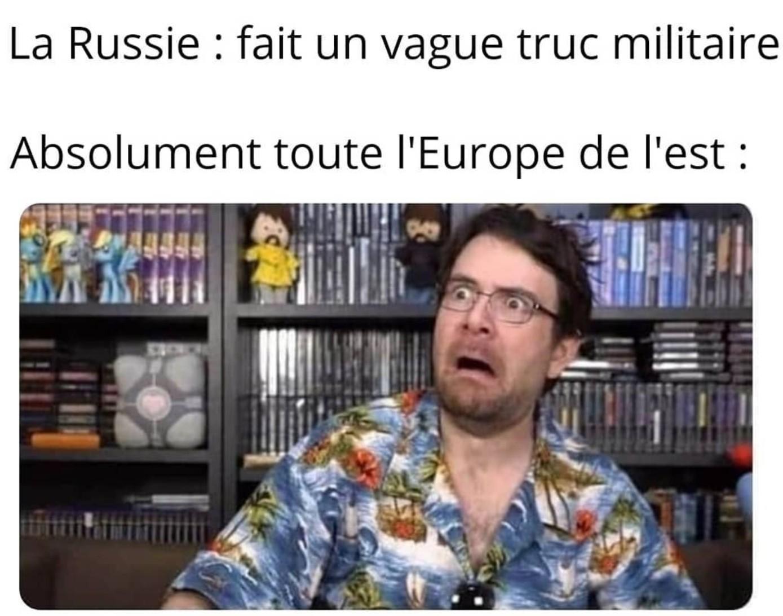 Encore pire lors des army games - meme