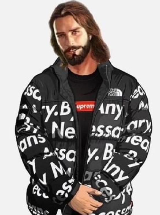 Les dejo un Jesús Drip a todos los que den positivo - meme