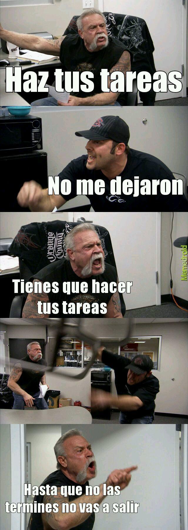 Típica madre latinoamerica - meme
