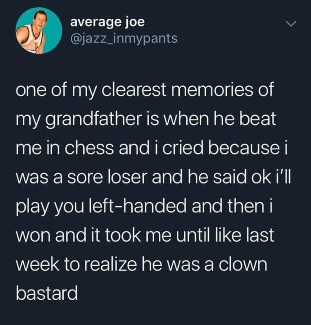grandfather moment - meme
