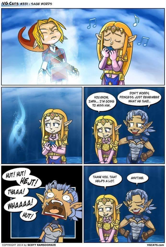 What's your favorite Zelda game? - meme