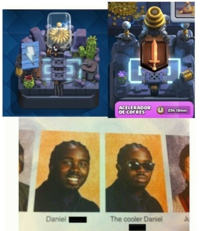 El título se fue a jugar Clash Royale xD - meme
