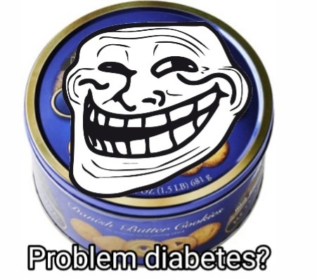 Contexto:Esas cajas son de galletas pero algunas personas usan esa caja para guardar cosas - meme