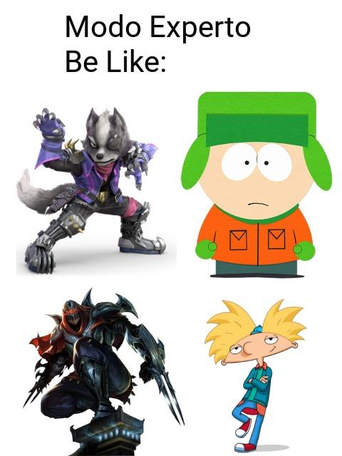 Los personajes ficticios si juegan al Counter-Strike 1.6 :son: - meme