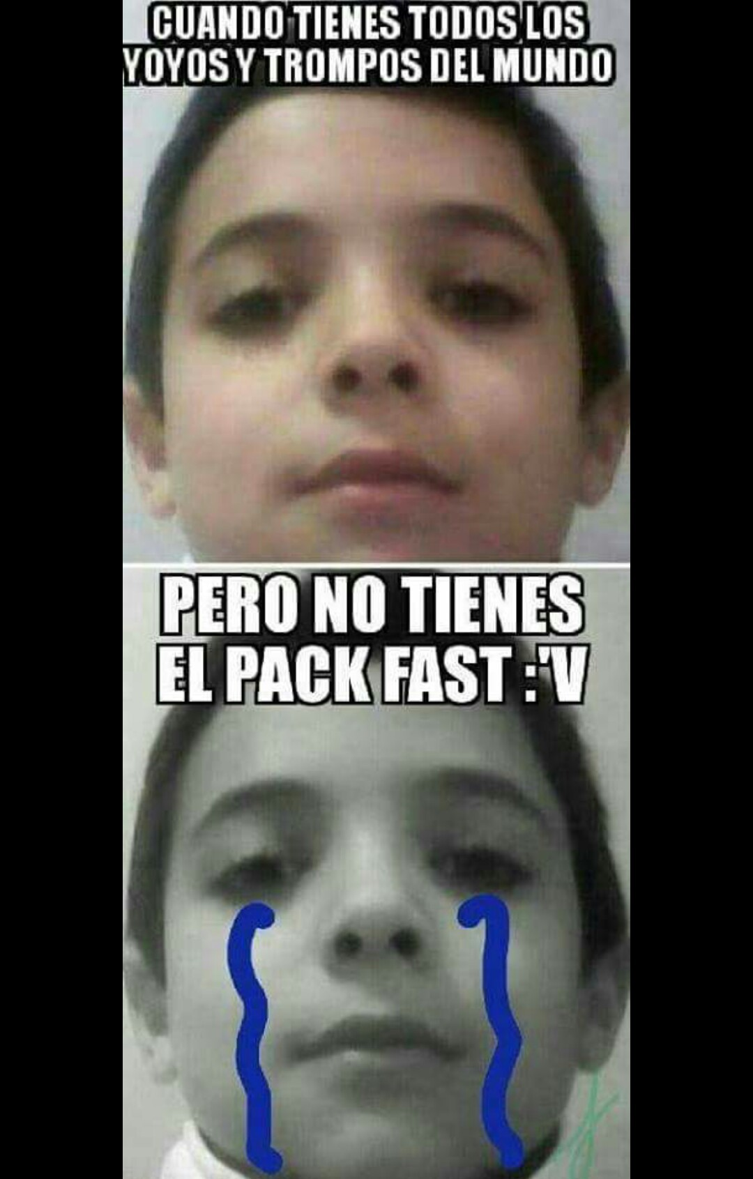 El pack fast - meme