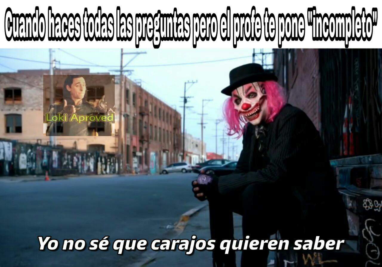 Nadie sabe que quieren - meme