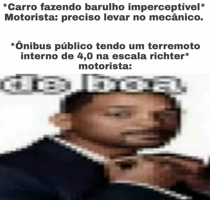 Ônibus crocante - meme