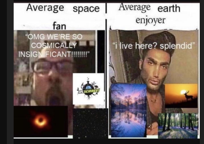 Earth is beautiful - meme