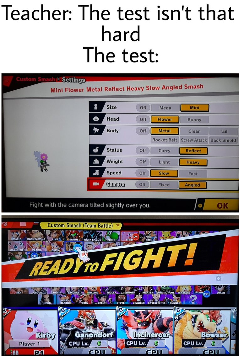 Any smash fans out there? - meme
