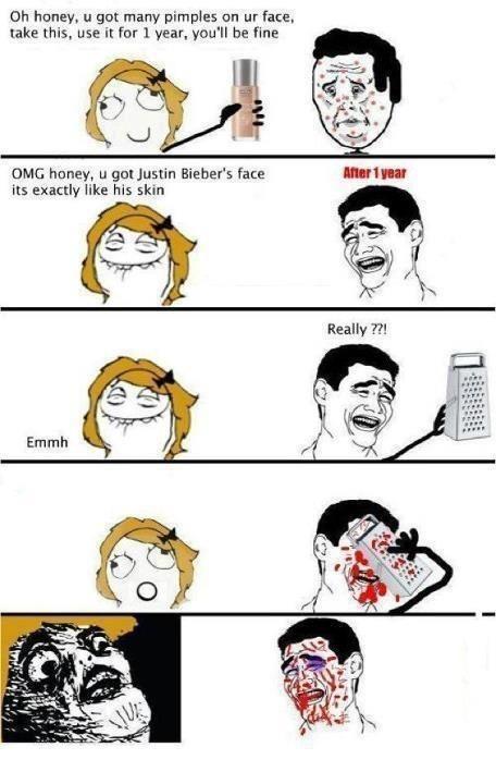 Le face mutilation - meme