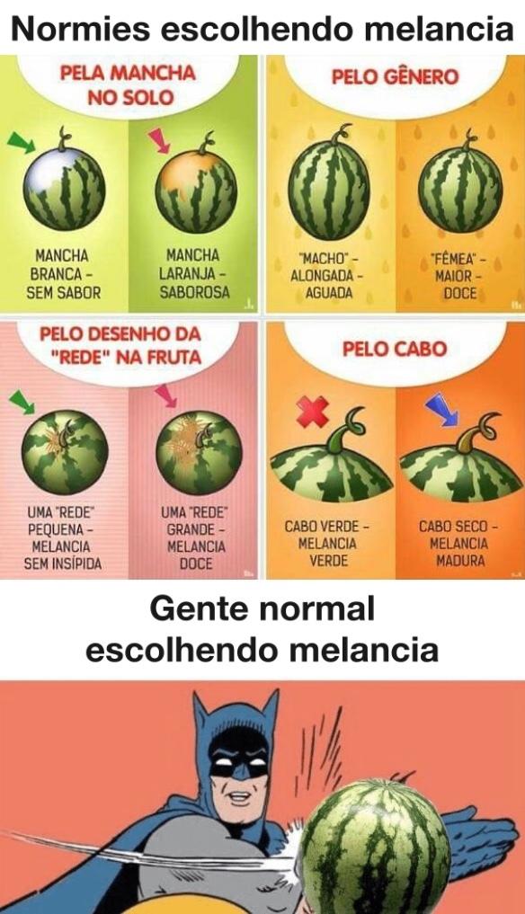 melancia delícia - meme