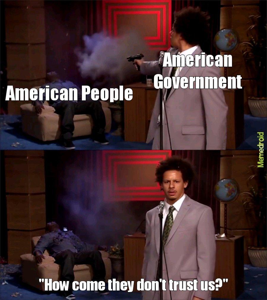 The U.S. in a nutshell - meme
