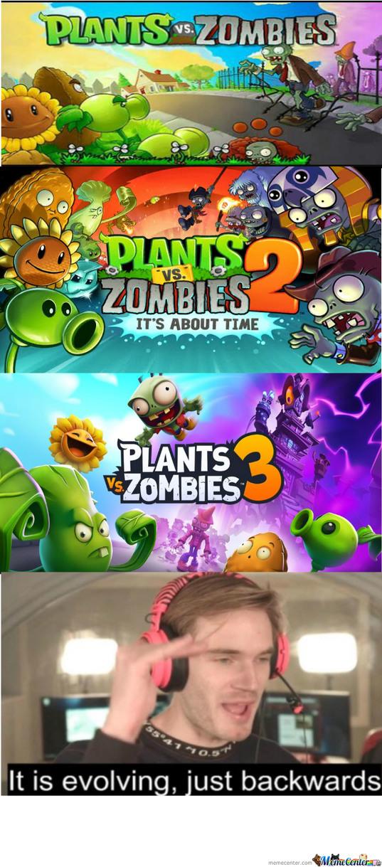 RIP pvz franchise - meme